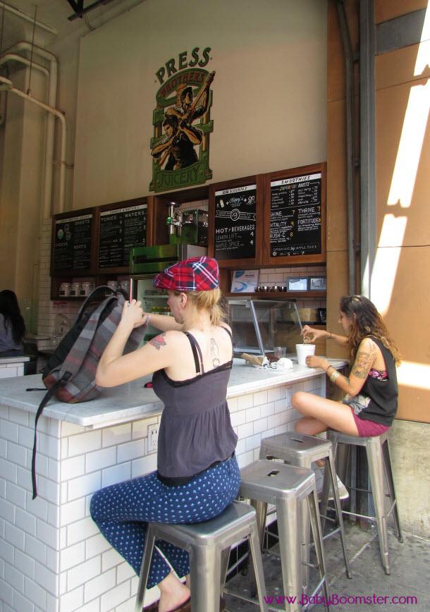 Boomer Travel | Los Angeles | Grand Central Market - Press Juicery