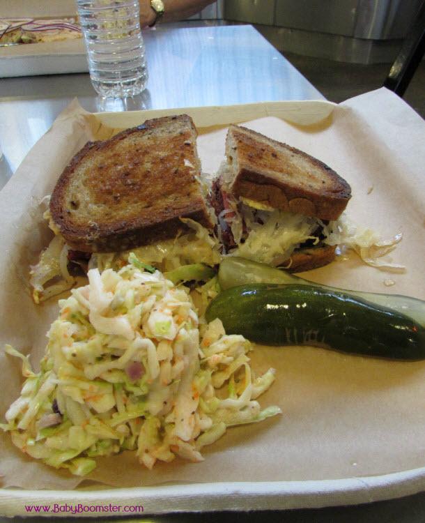 Wexlers Deli Reuben Sandwich