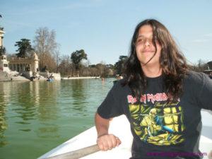 Arye on Boat in Madrid