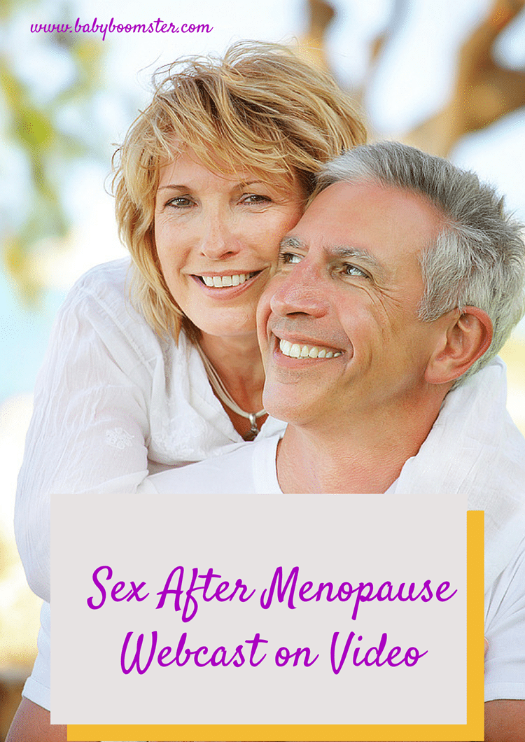 Sex after Menopause webcast video