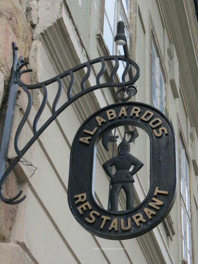 Baby Boomer Travel | Hungary | Alabdos sign - Budapest