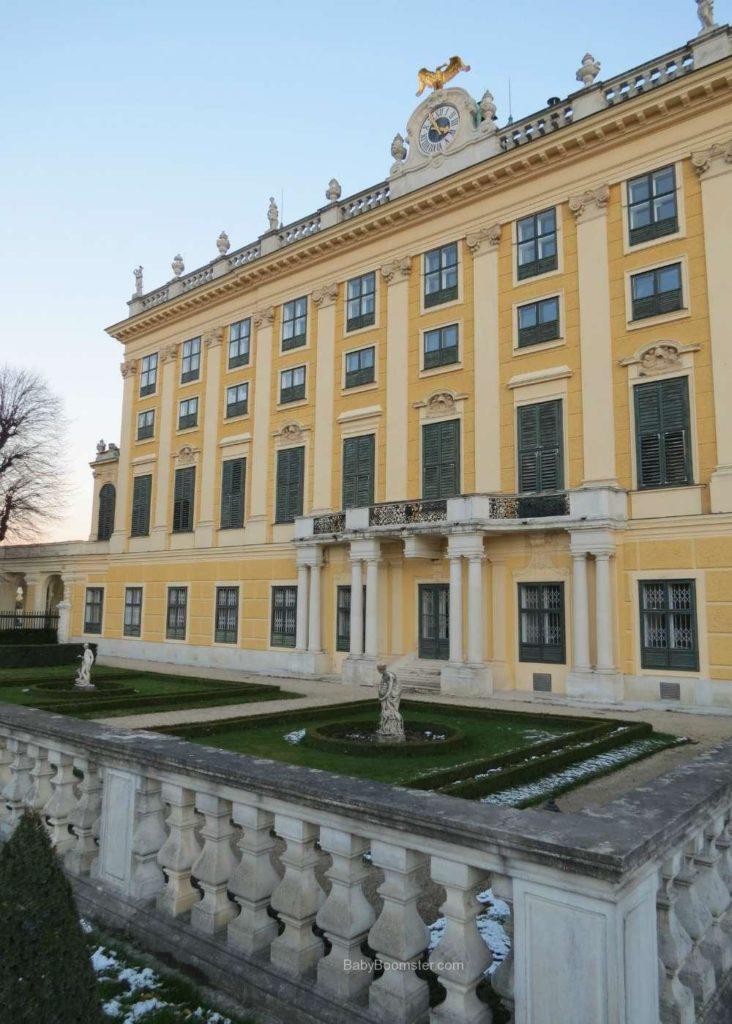 Baby Boomer Travel | Austria | Vienna - Schonbrunn Palace back