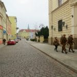 Boomer Travel | Bydgoszcz, Poland | Street with militia