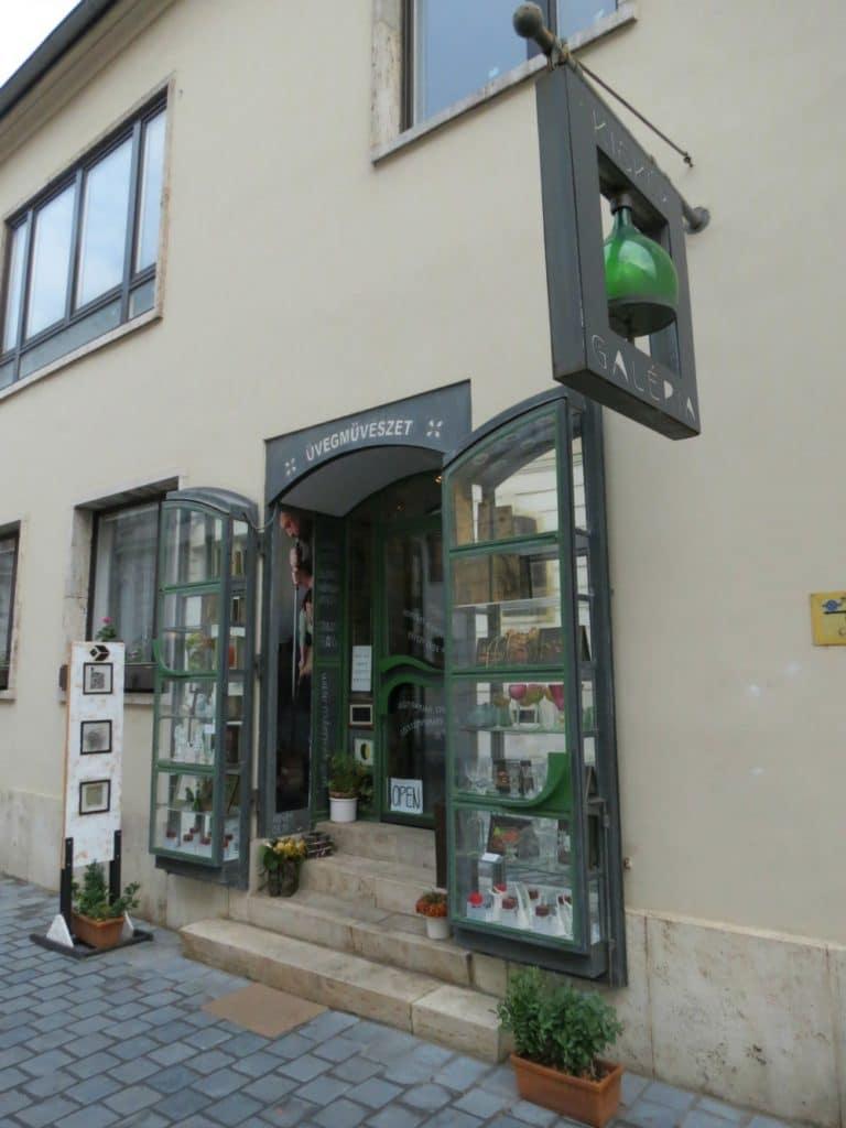 Baby Boomer Travel | Hungary | Glass Art Gallery in Buda