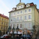 A hotel/cafe in the old city of Prague #Prague #CzechRepublic