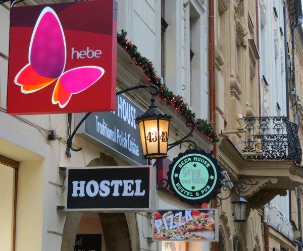 Baby Boomer Travel | Krakow, Poland | Street Signs