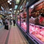 Baby Boomer Travel | Hungary | Great Market Hall Budapest - Meat Counter