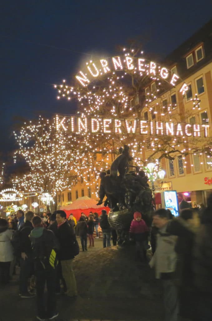 The Nurnberger Kinderweihnacht or #Nurnberg #ChristmasMarket in #Germany is one of the largest #Holiday markets in Europe