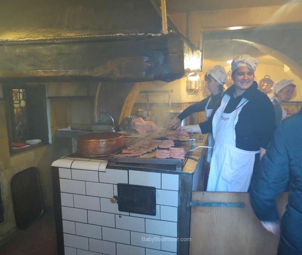 Oldest sausage restaurant Regensburg, Germany