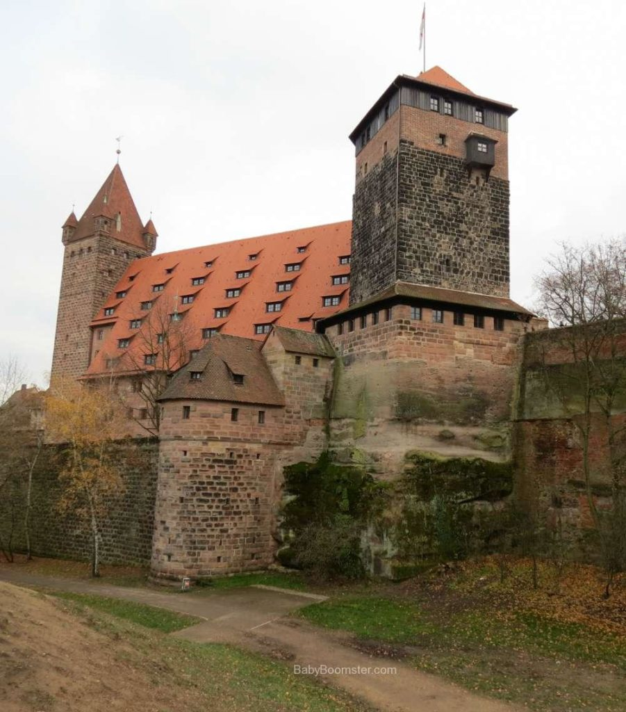 A structure in the old city of Nürnberg