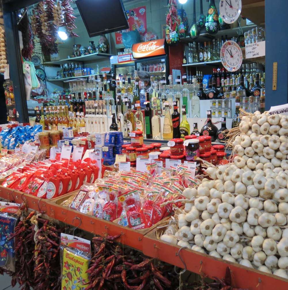 Paprika and Garlic Great Market Budapest