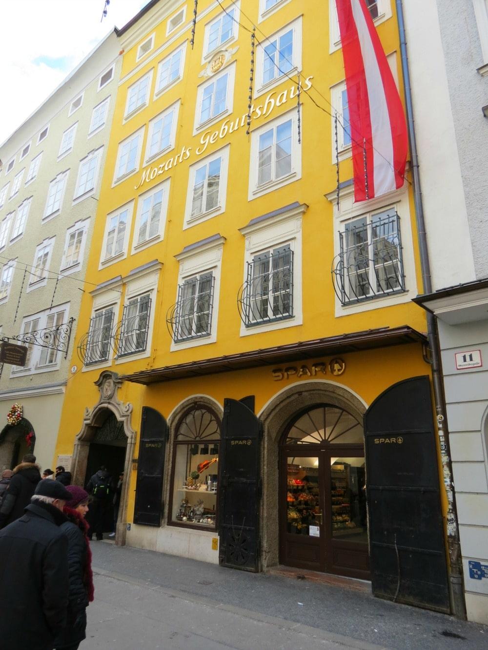 Baby Boomer Travel | Austria | Salzburg - Mozart House