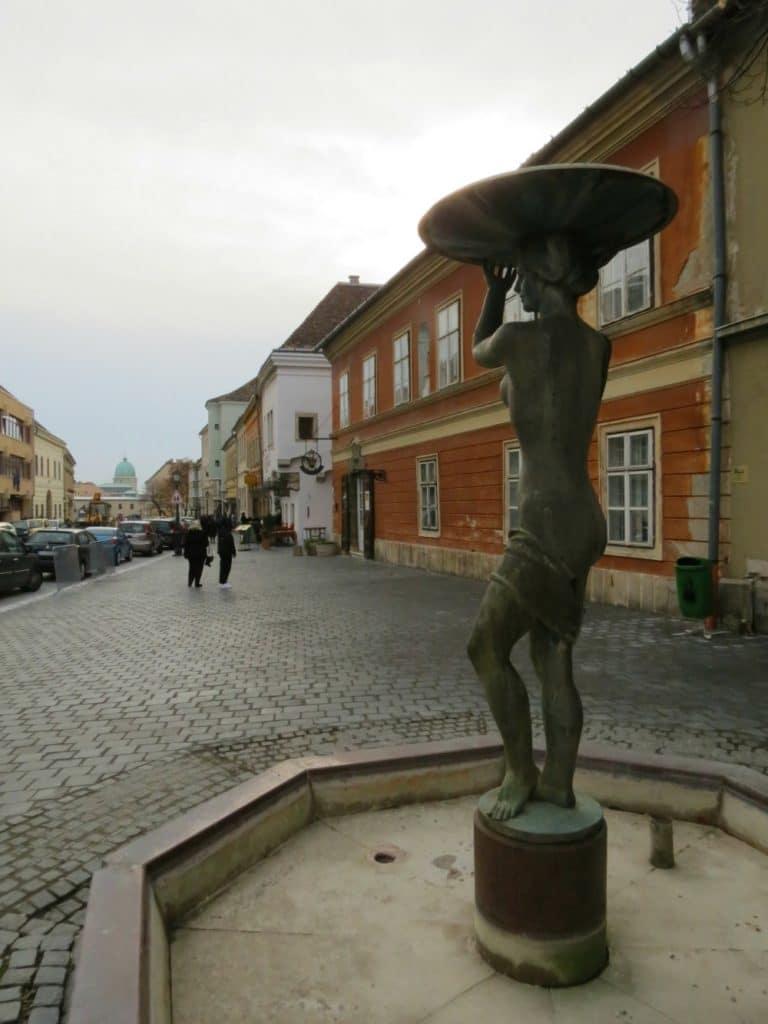 Boomer Travel | Budapest | Statue - Buda - Orszaghaz Utca Castle Hill District