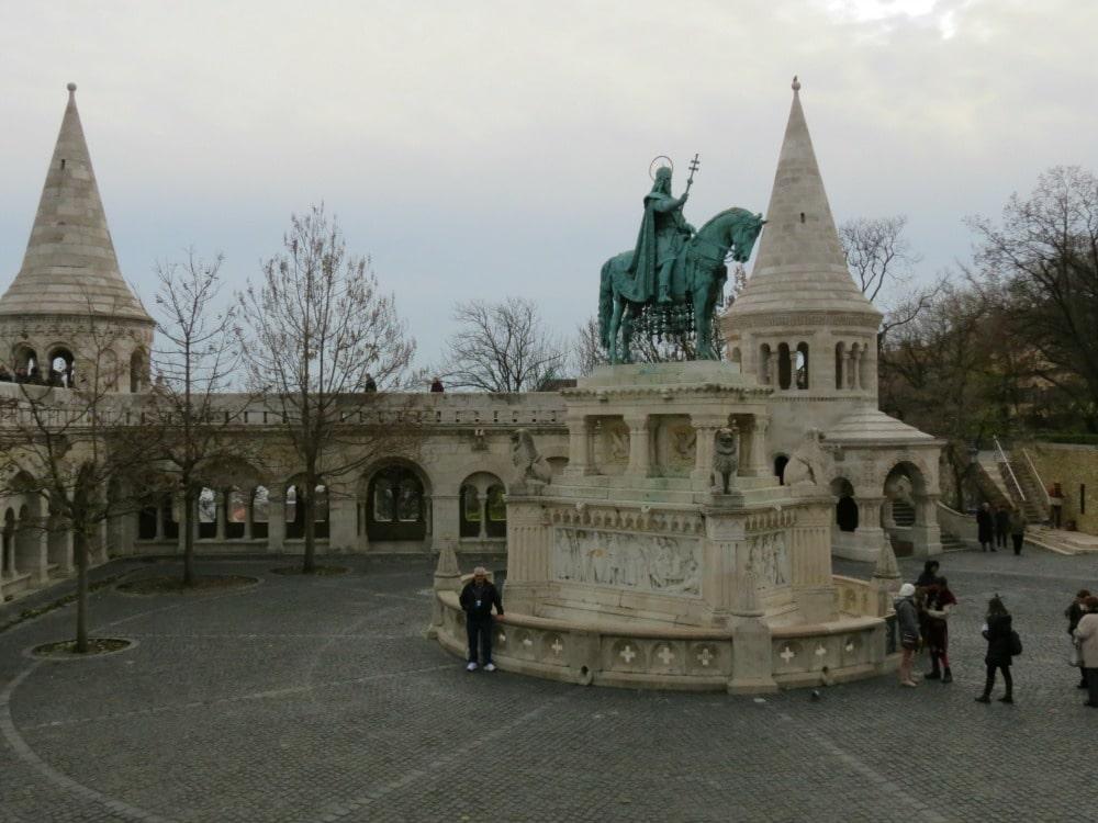 Boomer Travel | Budapest | Statue of Saint Istvan Fishermans Bastion Old Town Buda