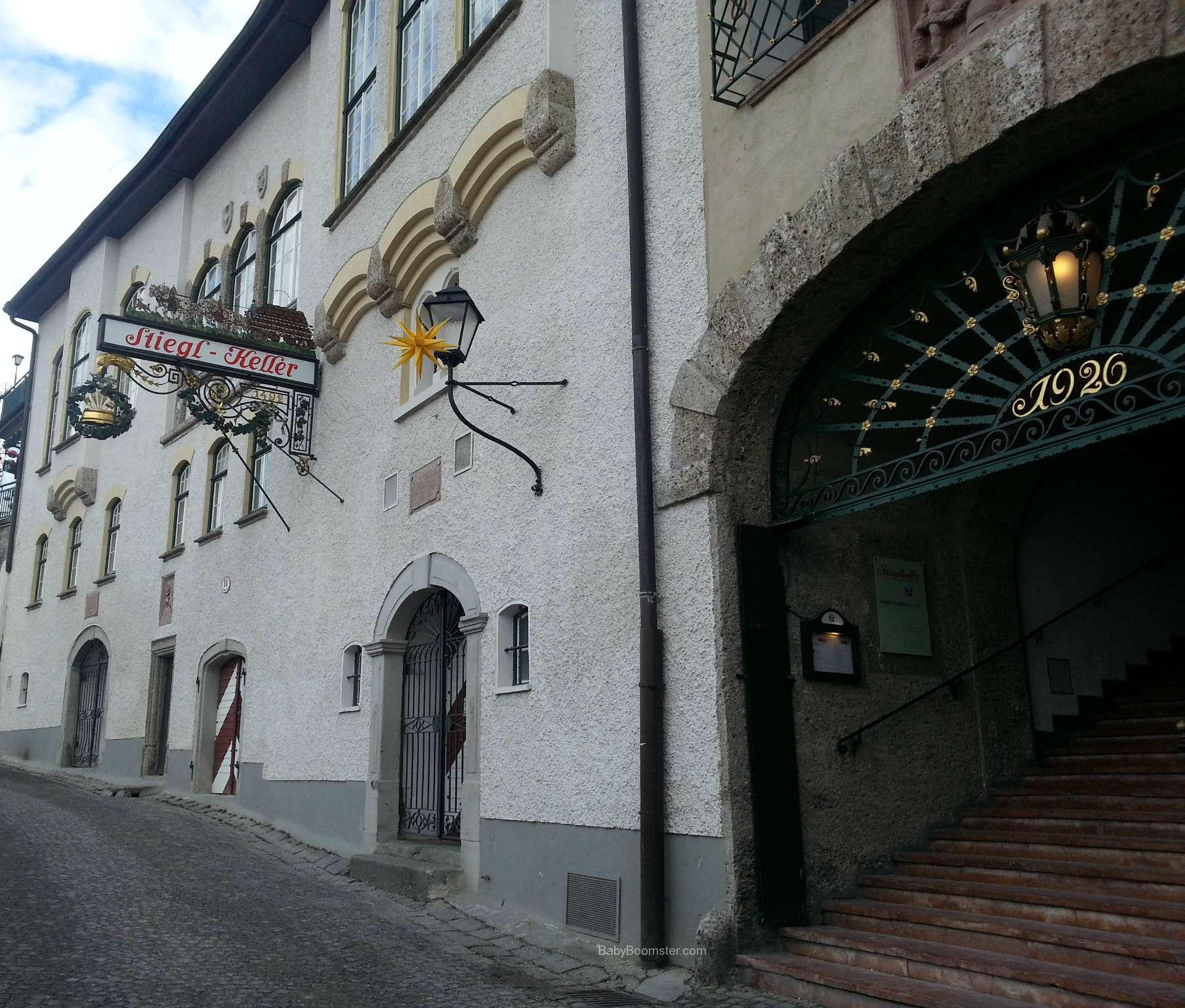 Baby Boomer Travel | Austria | Salzburg - Stiegl Keller