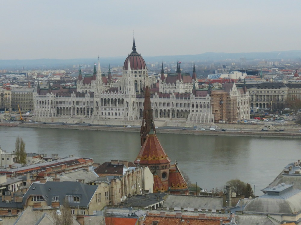 Baby Boomer Travel | Hungary | View of Parliment from Buda