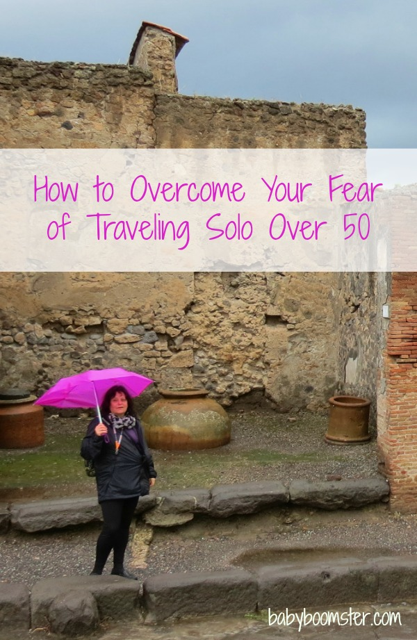 Solo travel for women over 50