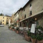 Montecatini Alto cafe - Tuscany - Italy