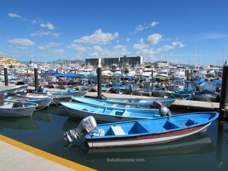 Baby Boomer Travel | Mexico | Marina - Cabo San Lucas