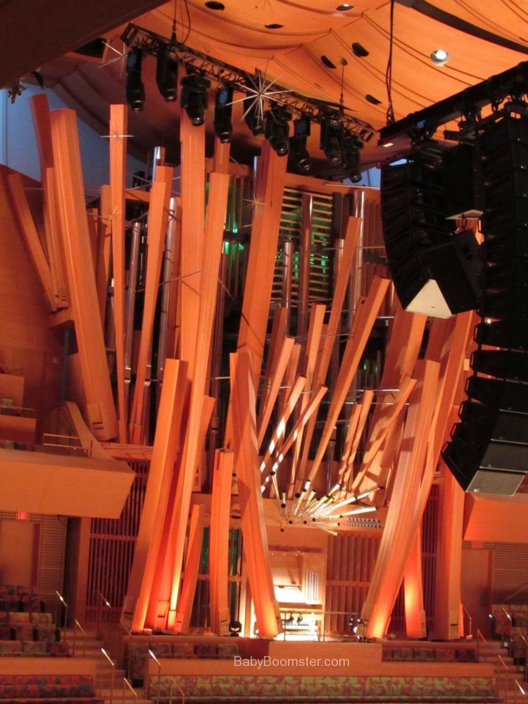 The Walt Disney Concert Hall in Downtown Los Angeles #organ #concert #concerthall #LosAngeles