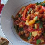 Tuscan Garbanzo Bell Pepper Soup