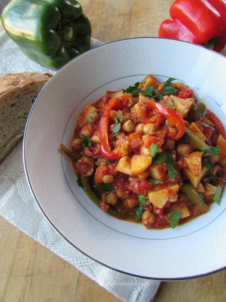 Baby Boomer Recipes | Tuscan Garbanzo Bell Pepper Soup