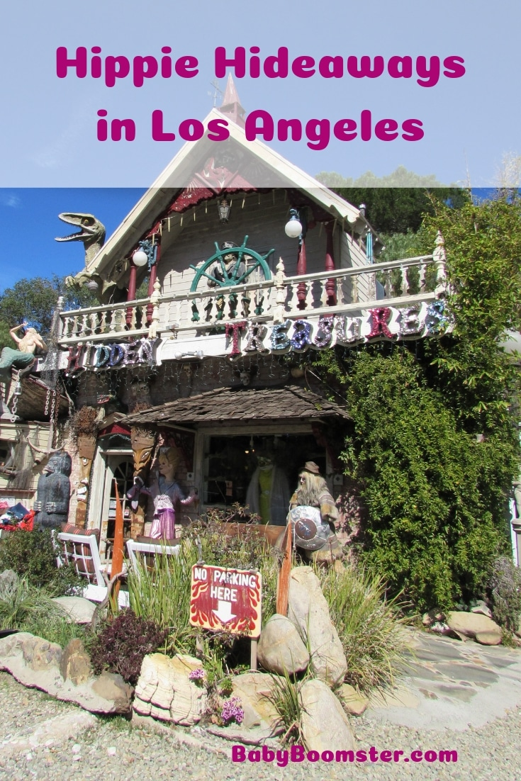 If you're looking for remnants of hippie hideaways in Los Angeles there are plenty of places to find it from Topanga Canyon, to Self Realization Fellowship Lake Shrine to Chatsworth.