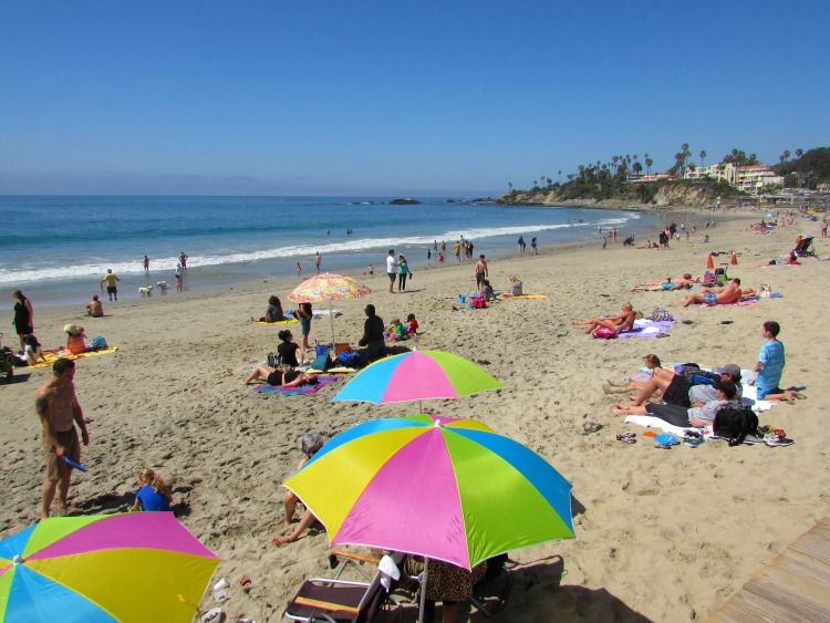 Laguna Beach down by the sea. Always a fabulous place to visit if you're in Southern California.