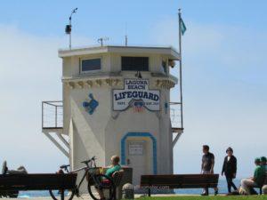 Baby Boomer Travel | California | Lifeguard station 1929 - Laguna Beach