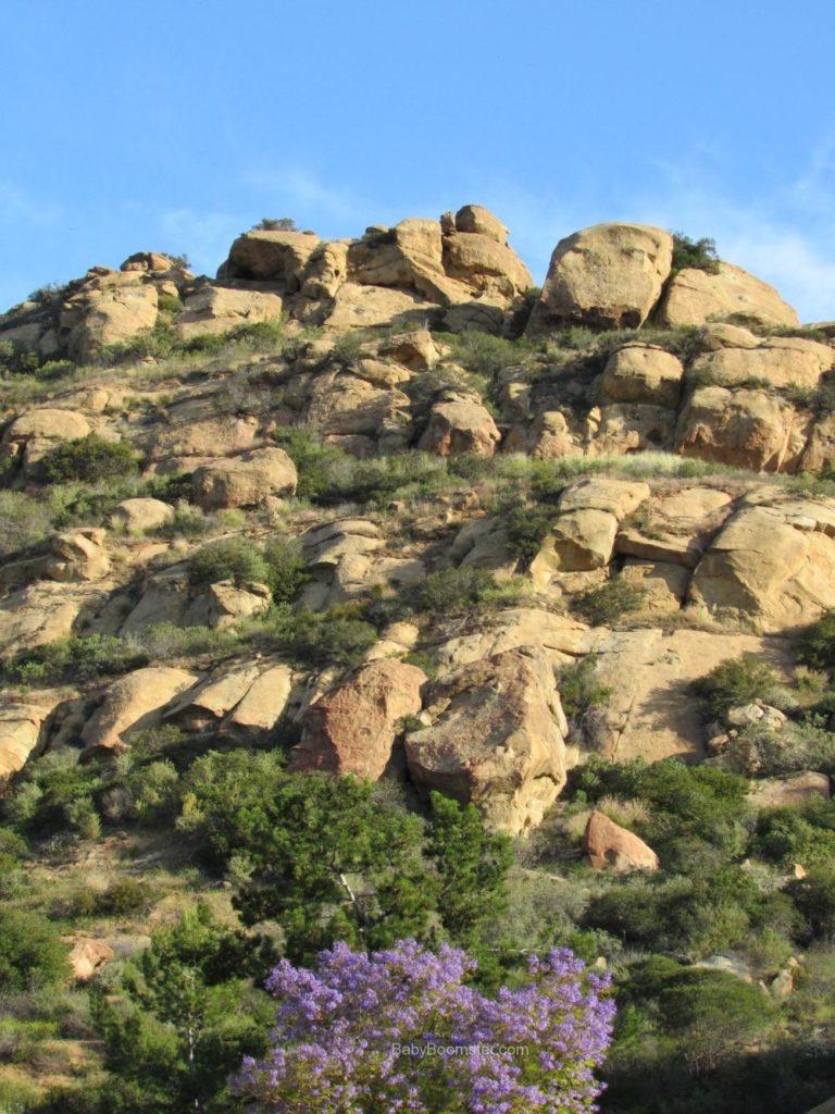 Rock formations - Chatsworth, California