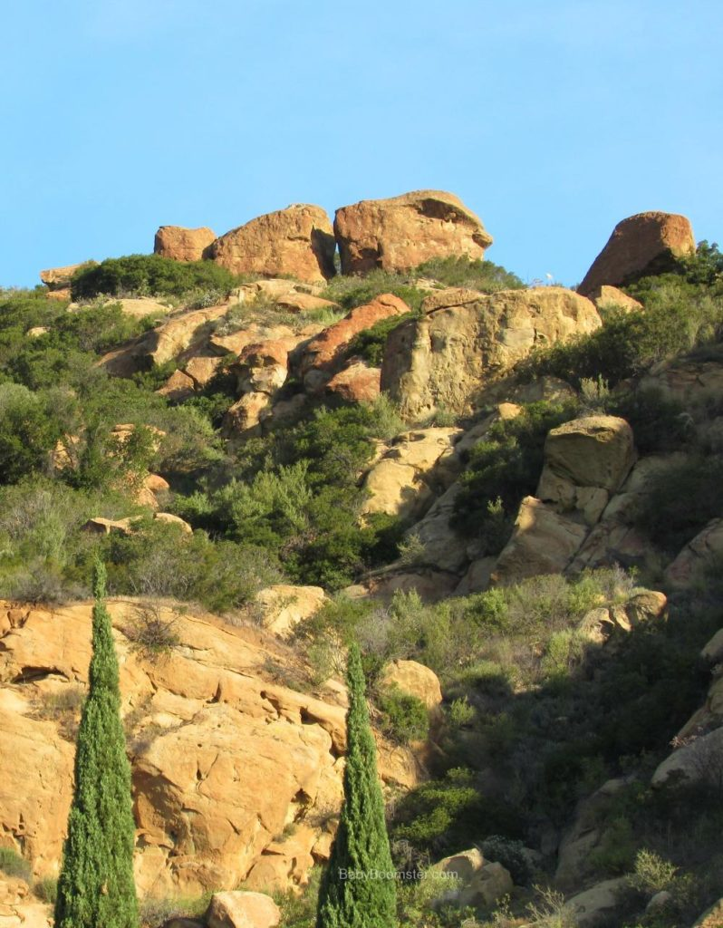 Rock formations - overlooking Chatsworth, California