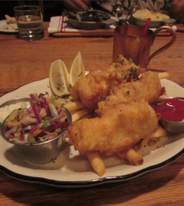 Baby Boomer Travel | Los Angeles Restaurant | Tam O'Shanter Fish and Chips