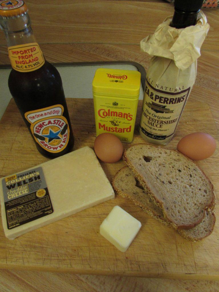 Welsh Rarebit Ingredients