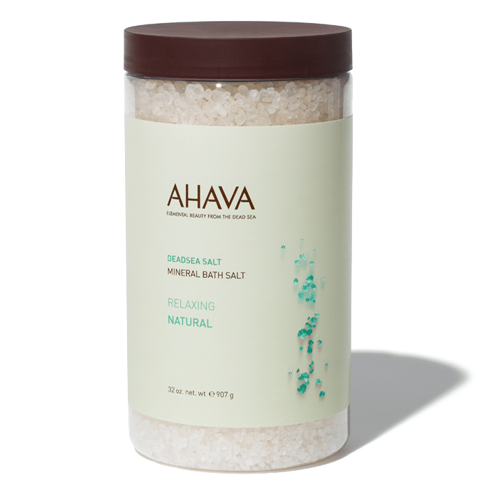 Natural bath salts made from Dead Sea Minerals. #Ahava - #Affiliate #bathsalt