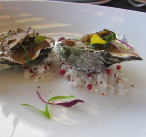 Sabor a Cabo - Los Cabos - Oysters and Porcini Mushroom