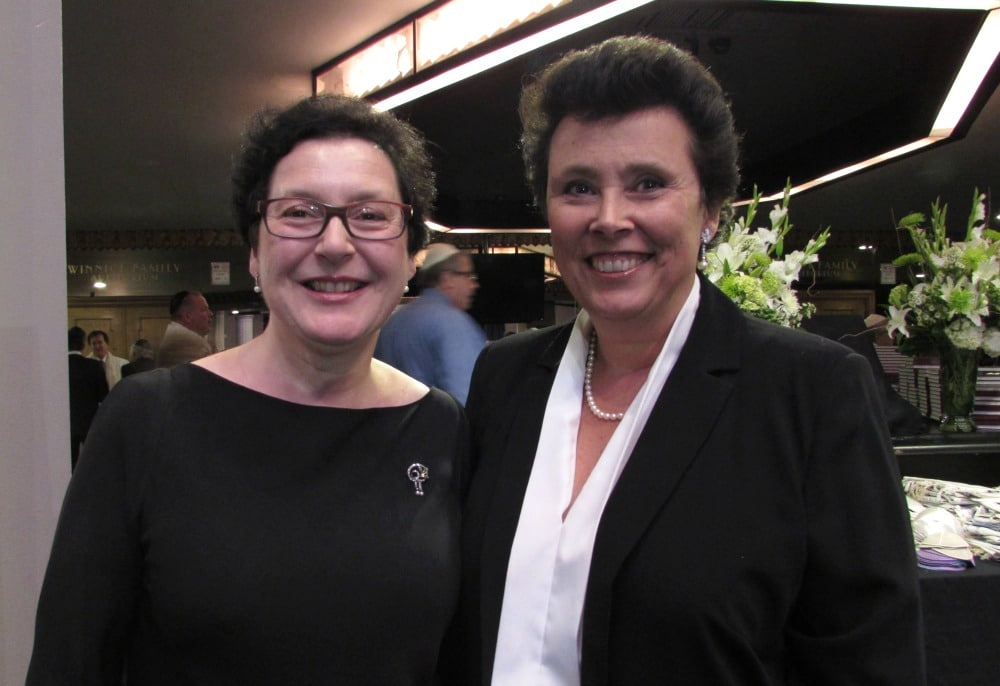 Evelyn Markus and Rosa Zeeger produced the documentary, Never Again is Now