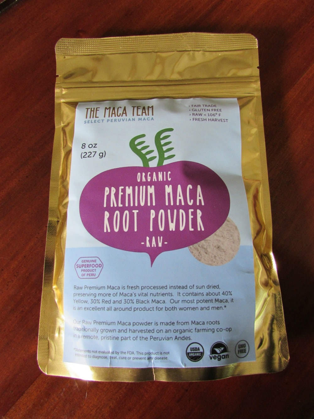 Peruvian Smoothie With Maca Root And Chia Recipe
