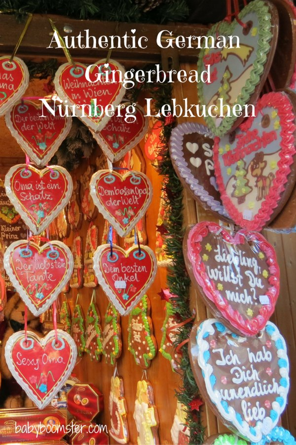 Authentic German Gingerbread recipe from Germany - a specialty at Christmas Markets throughout Europe