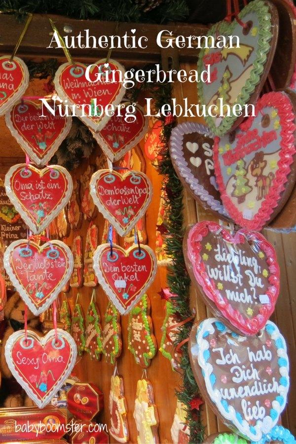 Gingerbread German Lebkuchen