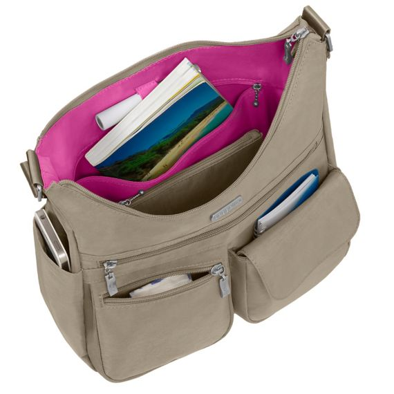 Baby Boomer Travel | Travel Gear | baggallini bag open
