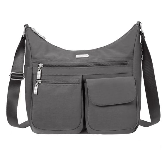 Baby Boomer Travel | Travel Gear | Baggallini Crossbody Bag - Shoulder bag with RFID #travelgear #travelpurse #RFID