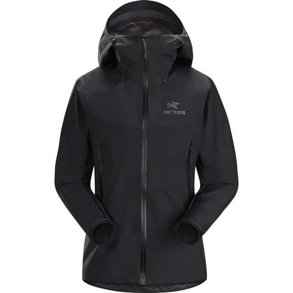 The Beta LA Hybrid Jacket by Arc'teryx is made with two types of GOR TEX which will keep you warm but is still light. #Jackets #womensjackets #outdoorjacket #packlight