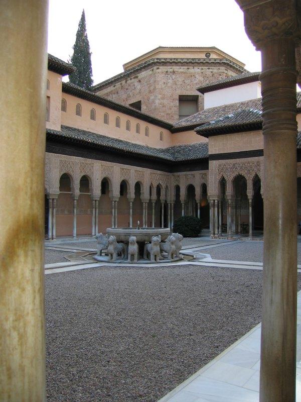 Baby Boomer Travel | Granada, Spain | Alhambra Court of Lions