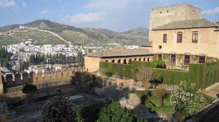Baby Boomer Travel | Granada , Spain | The Alhambra Garden