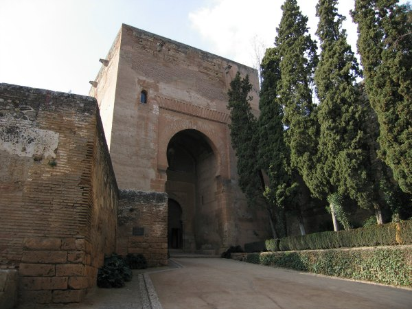 Baby Boomer Travel | Granada, Spain | Alhambra Gate house Tower of Justice
