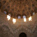 Baby Boomer Travel | Granada, Spain | Alhambra Sala de las dos Hermanas ceiling