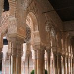 Baby Boomer Travel | Granada, Spain | Alhambra Patio of Lions columns