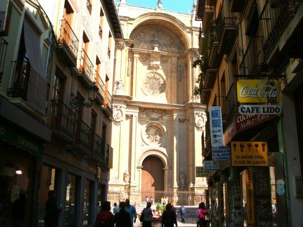 Baby Boomer Travel | Granada, Spain | Granada Cathedral and Street