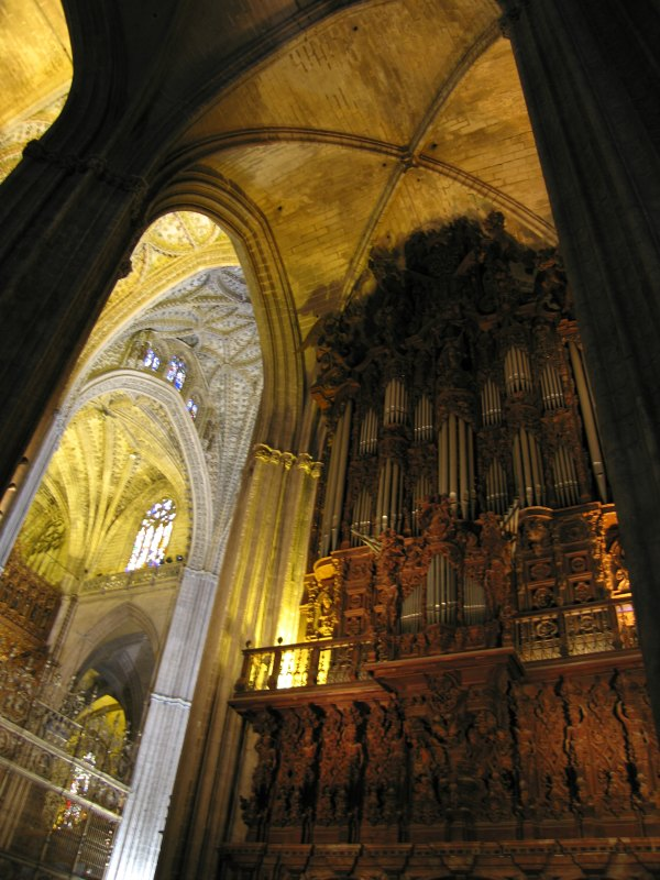Baby Boomer Travel | Seville, Spain | Seville Cathedral Organ Pipes