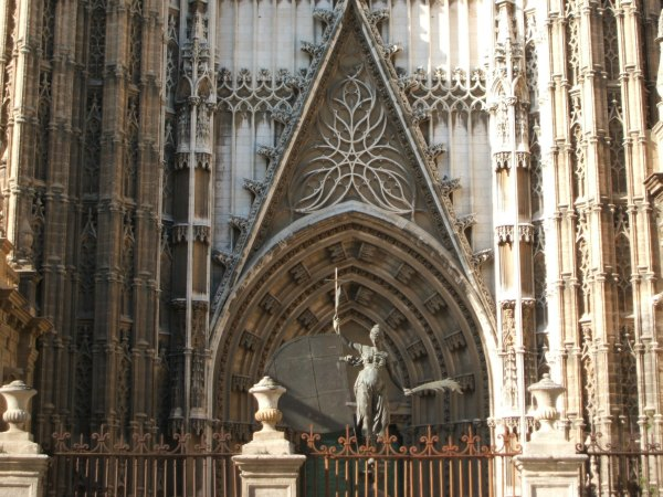 Baby Boomer Travel | Seville, Spain | Seville Cathedral entrance